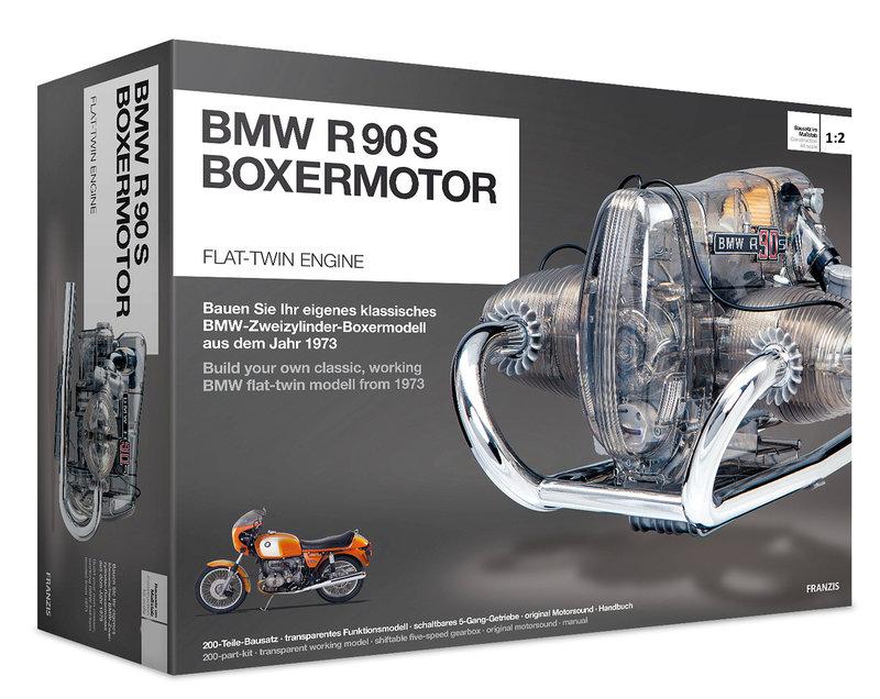 BMW R 90 S Boxermotor 1973 Bausatz 1/2