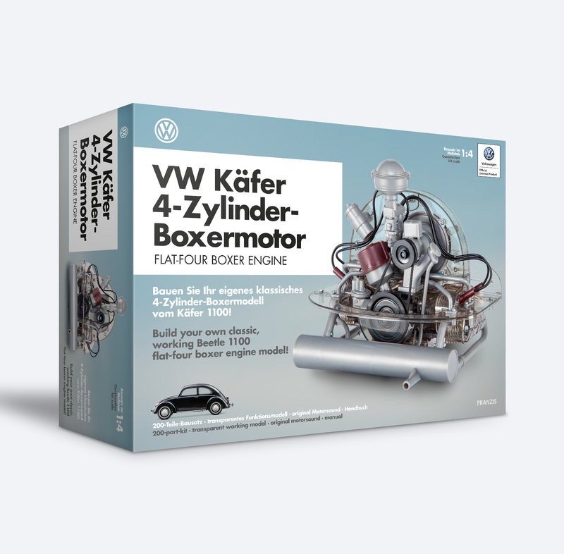 VW Käfer 4-Zyl. Boxer Motorbausatz 1/4