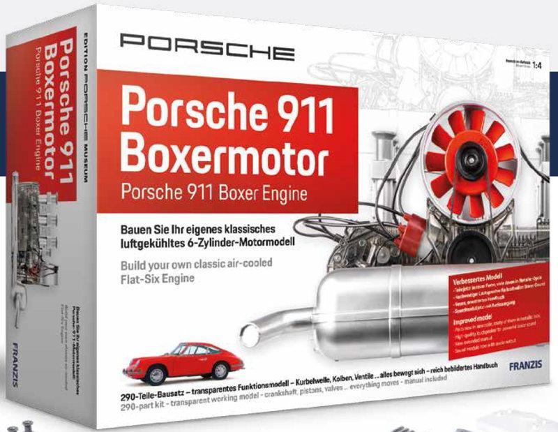 Porsche 6-Zylinder-Boxermotor Bausatz 1/4 - new version
