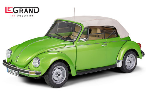 LEGRAND VW Käfer Cabrio 1303 viperngrünmetallic 1/8 kit