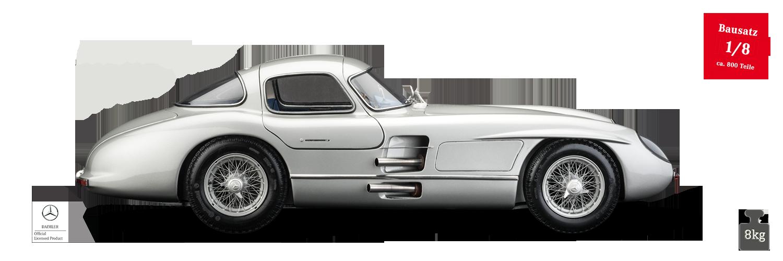 LEGRAND 1/8 Mercedes 300 SLR Uhlenhaut Coupé